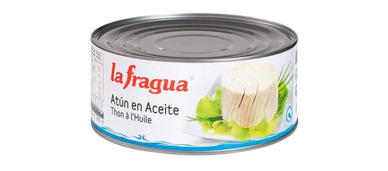 Atún en aceite La Fragua