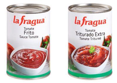 Tomate frito y triturado La Fragua