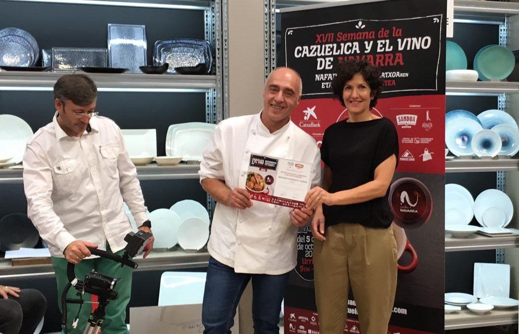 Enhorabuena Bar Harán, ganador del Premio Sandúa a la mejor cazuelica con nuestros aceites