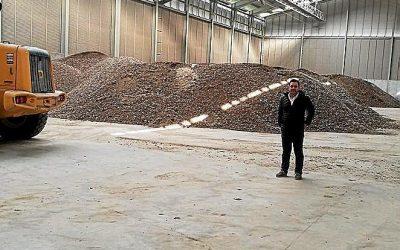 Granja Legaria apuesta por un pionero sistema de compostaje